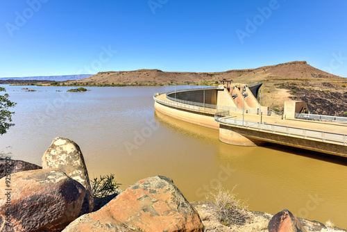 Photo sur Toile Barrage Naute Dam - Namibia
