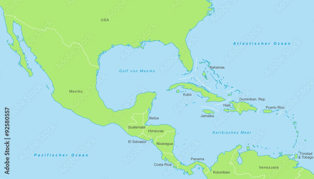 Gamesageddon Stock Mittelamerika Karte In Grun