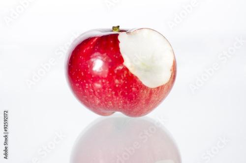 Fototapeta Ugryzione jabłko obraz