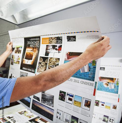 Printing processes Fototapeta