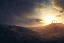 Crosses In The Desert