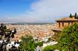 Vista panorámica de Granada, Andalucía, España