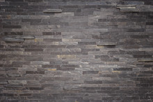 Black Slate Wall Texture And B...