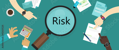 risk management asset vulnerability assessment concept Wallpaper Mural