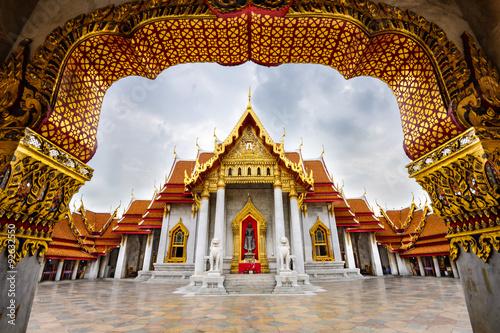 Foto op Canvas Bangkok Marble Temple of Bangkok