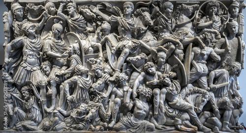 Fotografia Ludovisi Battle sarcophagus