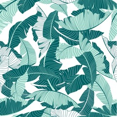 Fototapetasimple palm pattern