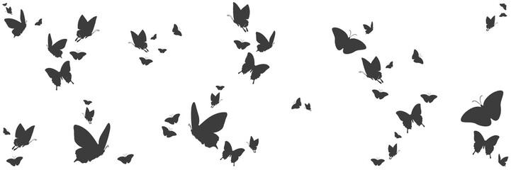 Sylwetki motyli