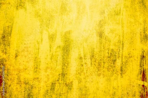 Grunge yellow background
