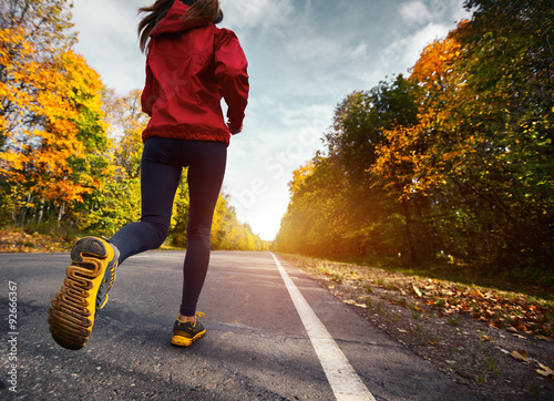 Poster Jogging Runner