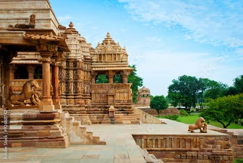 Devi Jagdambi Temple. Western Temples of Khajuraho, India
