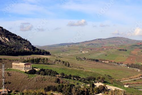 Fotografie, Obraz  segesta sicilia sito archeologico civiltà greca