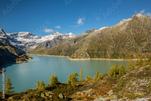 In de dag Canada Lac d'Emosson Suisse