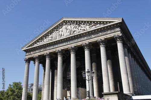 Poster Monument Paris - Eglise de la Madeleine