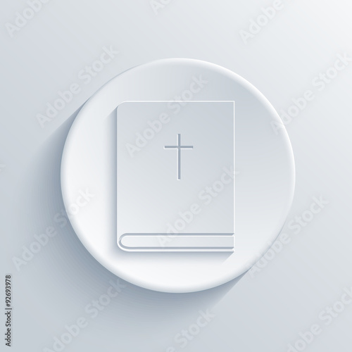 Vector modern  light circle icon
