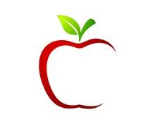 Red Apple Green Leaf