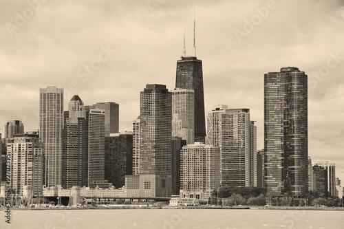 Poster Chicago Chicago city urban skyline