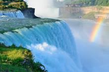 Niagara Falls In The Morning