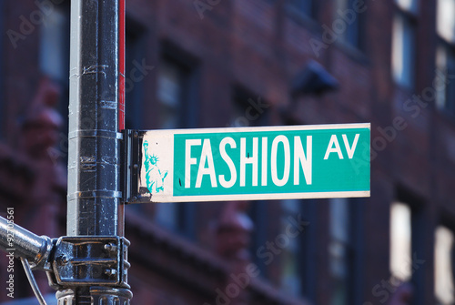 Fotografie, Tablou New York City Fashion avenue