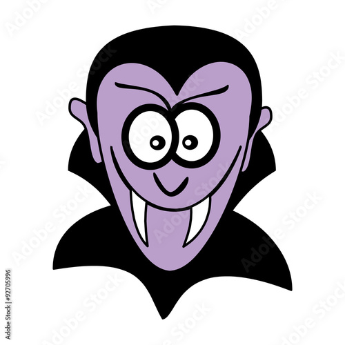 vampire face mask Poster