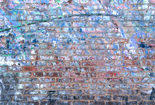 Grunge Brick Wall Textured Bac...