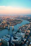 Fototapeta Londyn - London aerial
