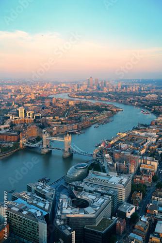 Photo  London aerial