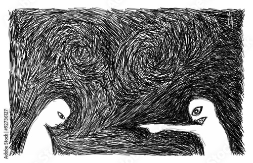 Fotografia, Obraz Accusé, jugé, critiqué | Harcèlement moral