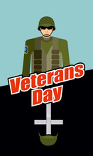 Veterans Day. Soldiers And Tom...