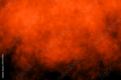 Photographie Abstract Dark Halloween Hell Fire Flyer