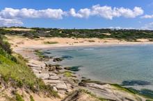 Beach View In Punta Del Diablo...