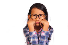 Little Girl Showing Bored Gest...