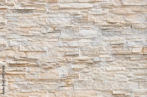 Foto op Canvas Stenen Stein Fliesen Steinmauer Modern