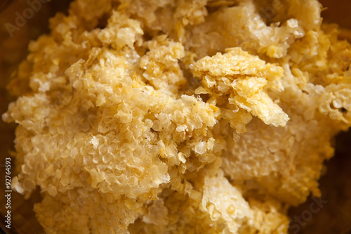 Photo Raw Beeswax for Candles