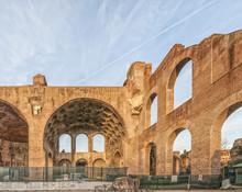 Constantine Basilica Roman Forum