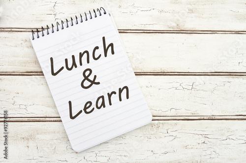 Fotografie, Obraz  Oběd a uč
