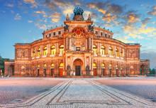 Dresden - Semperoper, Germany