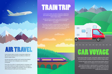 Travel Illustration Set