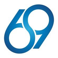 Sweet Numer 69 Vector