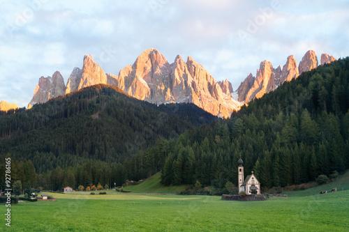 Photo  Geislergruppe Südtirol - Gruppo delle Odle