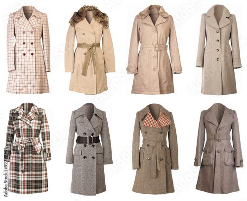 Fotografie, Tablou  Winter Coats Cutout