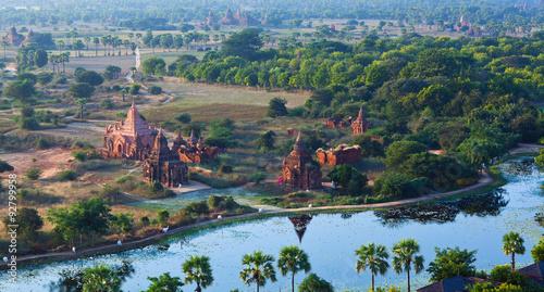 Fotografia  Bagan Archaeological Zone, Myanmar