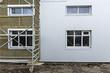 Construcción de una casa en Islandia.