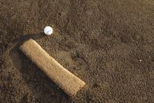 Baseball Ball And Mound