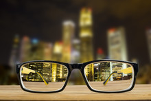 Glasses View Vision Focus Viewpoint