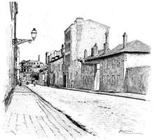 Street Of Champ-de-Alouette, V...