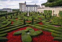 Castle Of Villandry, Loire Valley, France