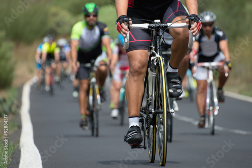 Photo sur Toile Cyclisme cycling competition
