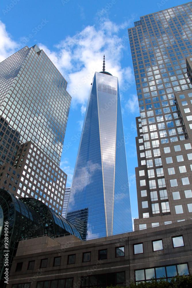 Fototapety, obrazy: Freedom Tower