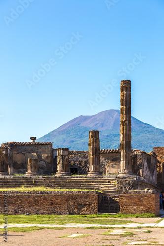 Foto op Plexiglas Kiev Pompeii city